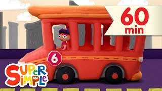 10 Little Buses | + More Kids Songs | Super Simple Songs