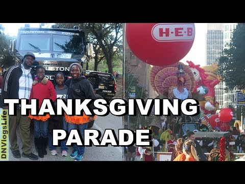 H-E-B Thanksgiving Day Parade 2017 - City of Houston, Texas