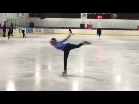 Sydney's UPDATED Skating Skills!!!