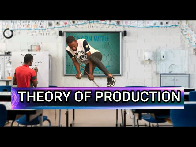 Theory of Production (Total, Average & Marginal Product)