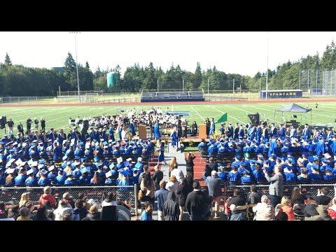 Kolin Hawkins and his fellow Class of 2016 Graduating - Part 4: Diploma time!