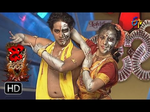 Vinay and Rishika Performance | Dhee Jodi | 11th January 2017| ETV Telugu