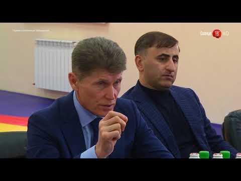 21.02.2018 Губернатор Сахалинской области встретился с жителями Невельска