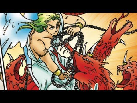 Angel Vs  Devil (Dragon) Scene In Manga Majesty - Animatic Comic