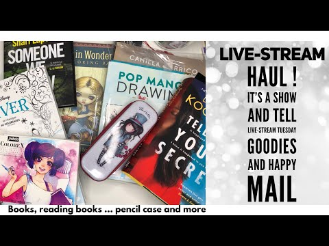 livestream---haul-mail-and-goodies-to-show
