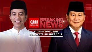 Gambar cover FULL Sidang MK Putusan Gugatan Hasil Pilpres 2019; Jokowi & Prabowo