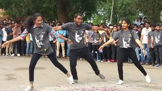 Flash Mob @BITS, Narsampet on the occasion of Shrestah'18_14-09-2018_Part2
