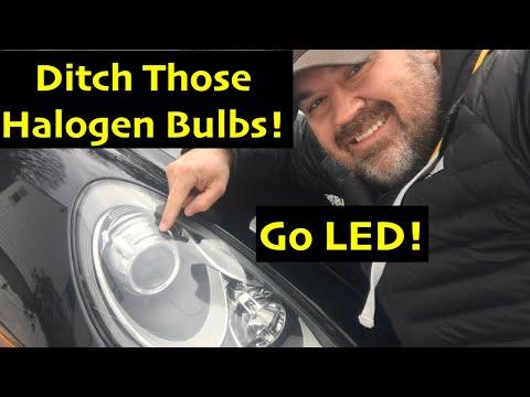 Ditch Those Halogen Bulbs for LED's Porsche Cayenne DIY