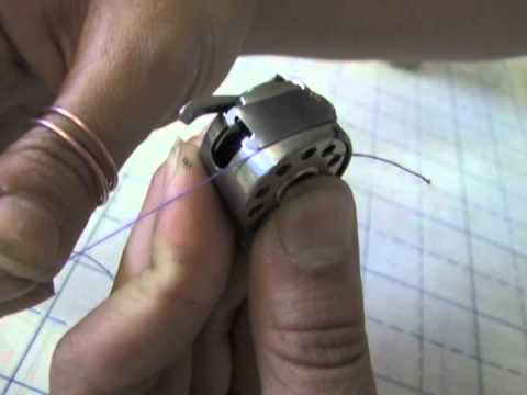 Bobbin Case Threading and Inserting into Machine
