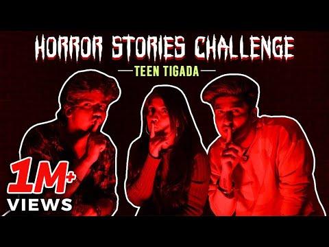 Horror Stories Challenge - Teentigada   Sameeksha Sud   Vishal Pandey   Bhavin Bhanushali
