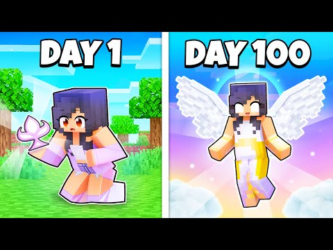 100 DAYS as the GODDESS of Minecraft!