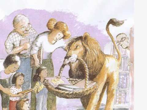 Library Lion by Michelle Knudsen - illustrated by Kevin Hawkes Candlewick Press mus. Ron Westray