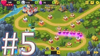 Toy Defense Fantasy - TD Strategy Game #challenge 5 gameplay(android & ios)