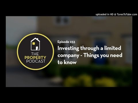 TPP233 Investing through a limited company - Things you need to know