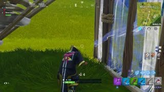 Fortnite salto dodges lol I pass between the balls as in matrix