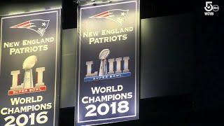 Patriots unveil 2018 Super Bowl Championship banner at Gillette Stadium