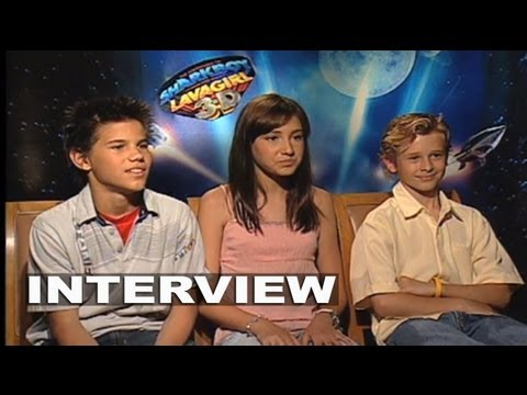The Adventures of Sharkboy and Lavagirl 3D: Taylor Lautner Interview