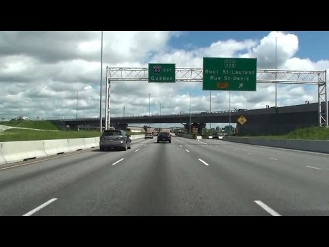 A-40 MONTREAL TO TROIS-RIVIERES, QUEBEC, CANADA