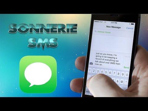 [TUTO] Créer et Ajouter Sonnerie SMS IPhone