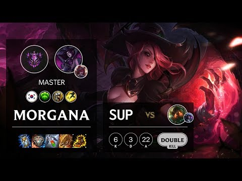 Morgana Support vs Nautilus - KR Master Patch 10.9