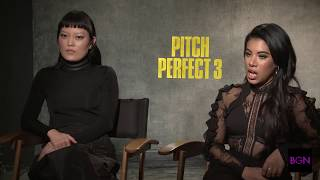 "Chrissie Fit and Hana Mae Lee chat with Joi about ""Pitch Perfect 3"""