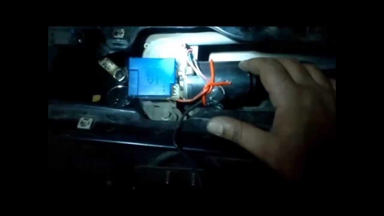 33c5a146aa2 MOTOR DO LIMPA VIDRO PAROU. RELÊ TEMPORIZADOR - PALIO 96 ATÉ 2000 - YouTube