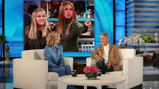 Download Reese Witherspoon Reacts to Jennifer Aniston's Best Friend Claims Mp3 and Videos