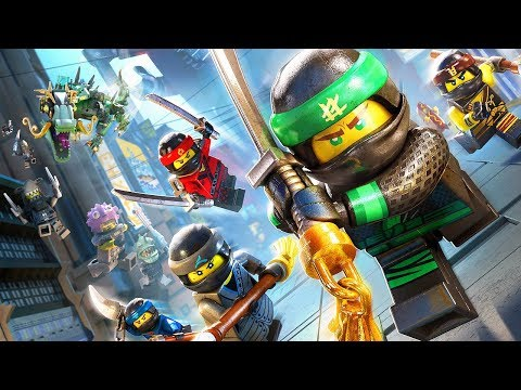 LEGO NINJAGO IGRA - borba protiv robotskih ajkula i drakula thumbnail