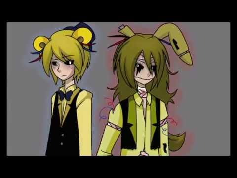 golden freddy x springtrap tribute ♥ [YAOI WARNING] (13+)