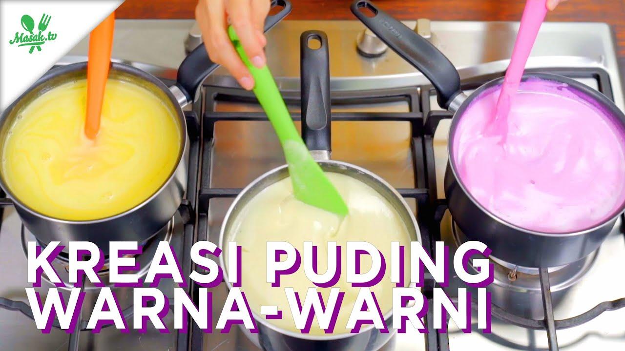 Resep Kreasi Puding Warna Warni