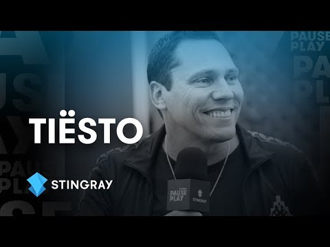 Tiësto Interview | Stingray PausePlay