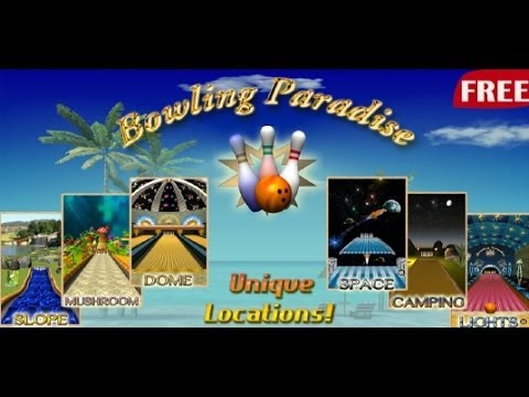 Free Bowling Game Paradise Pro Free Android App Review (Demo)