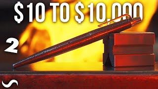 Turning a $10 pen into a $10,000 pen!!! Part 2