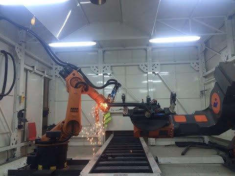 Robotic 3D Laser Cutting ( Robotik 3D Lazer Kesme)