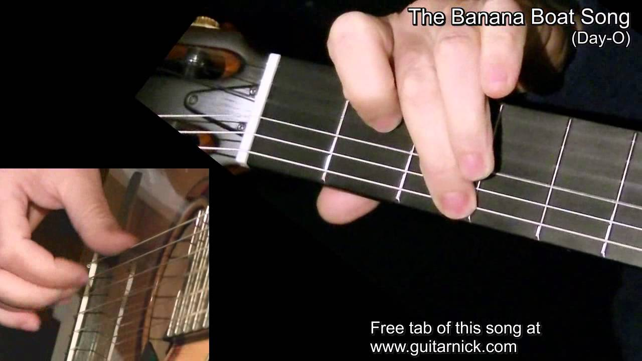 The banana boat song fingerstyle guitar lesson tab by the banana boat song fingerstyle guitar lesson tab by guitarnick youtube hexwebz Image collections
