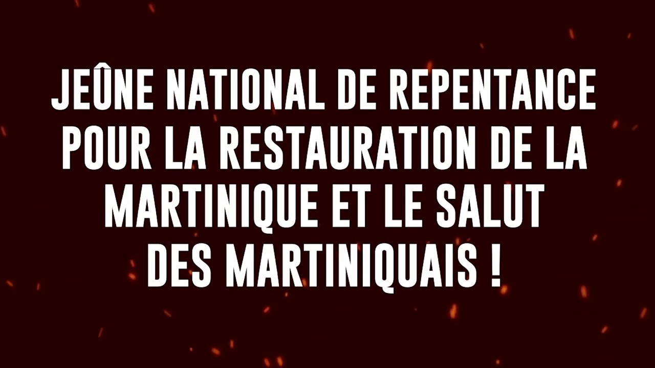 JEÛNE NATIONAL DE REPENTANCE