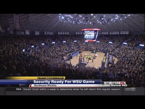 Security ready for Shockers games at Koch Arena