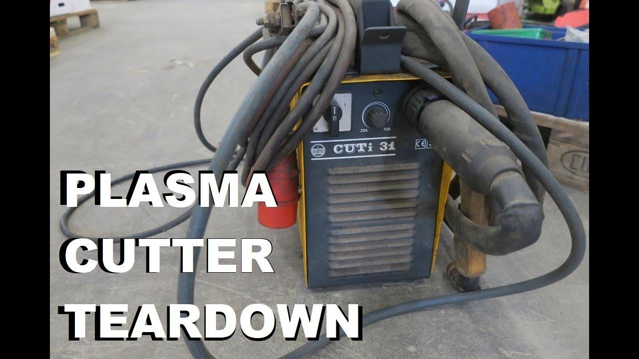 10 kVA Kjellberg Plasma Cutter CUTi 31 Teardown | Kaizer