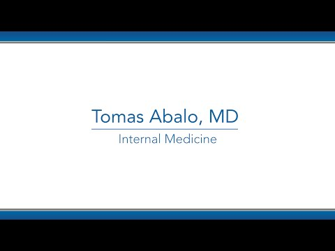 Tomas Abalo, MD video thumbnail