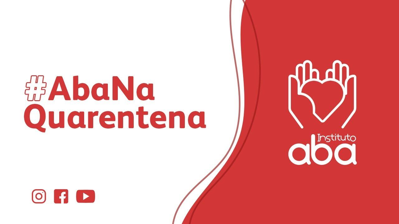 #AbaNaQuarentena - confira nosso novo vídeo!