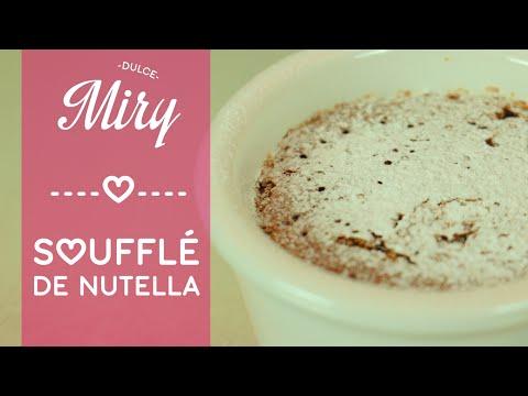 Cómo hacer SOUFFLÉ de NUTELLA (How to cook Souffle recipe) - YouTube