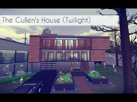 Modern Vampire House Twilight Inspired Sims 4 Youtube