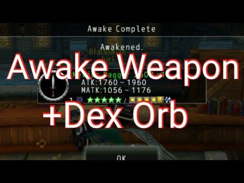 AVABEL ONLINE : AWAKE WEAPON PLUS DEX ORB