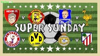 ⚽️SUPER SUNDAY⚽️ Rodgers sacked! Arsenal 3-0 Man Utd! Atletico 1-1 Real Madrid! Bayern vs Dortmund!