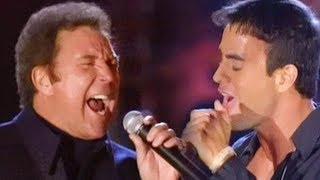 Cover images Enrique Iglesias & Tom Jones - Fire (LIVE)
