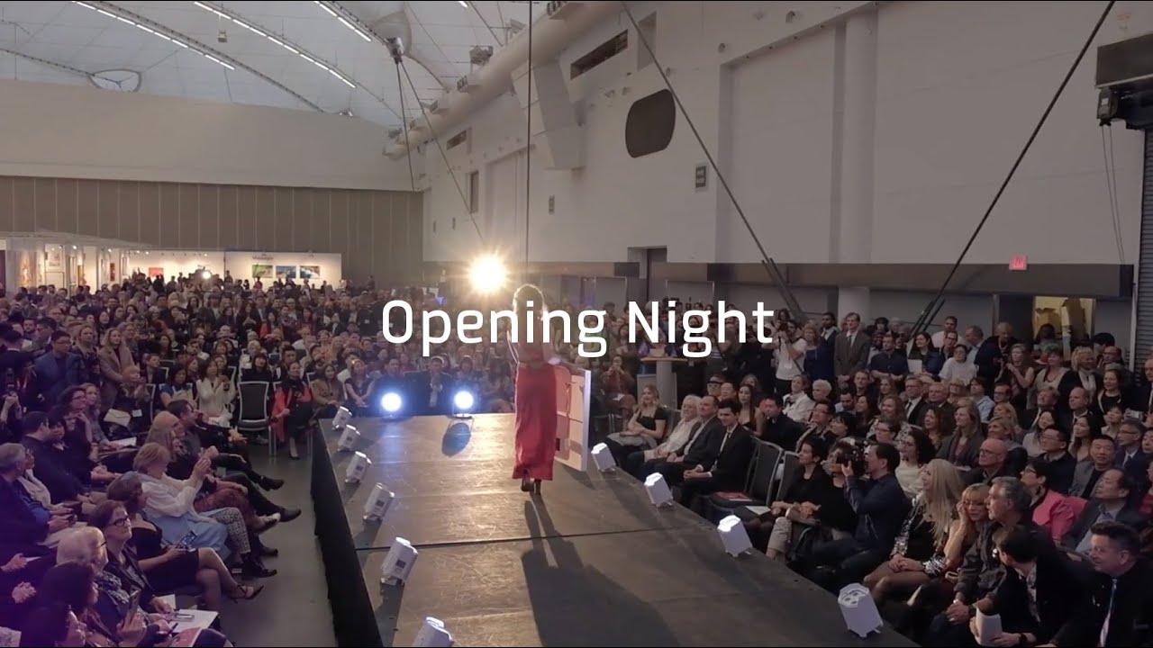 Art Vancouver Opening Night 2019