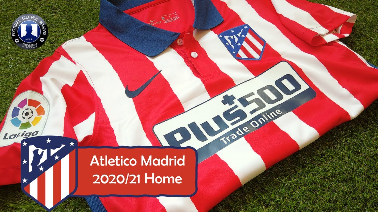 Atletico Madrid 2020/21 Luis Suárez Home Kit Unboxing + Try on!! [AliExpress]