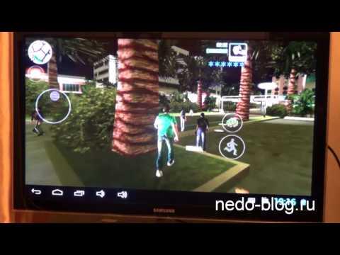 Планшет к телевизору через HDMI. Игры, видео, интернет