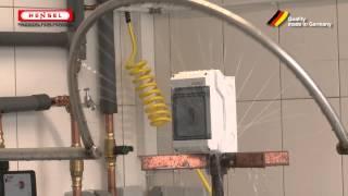 Wasserprüfung: Schwenkrohr / Test for protection against water - splashing water