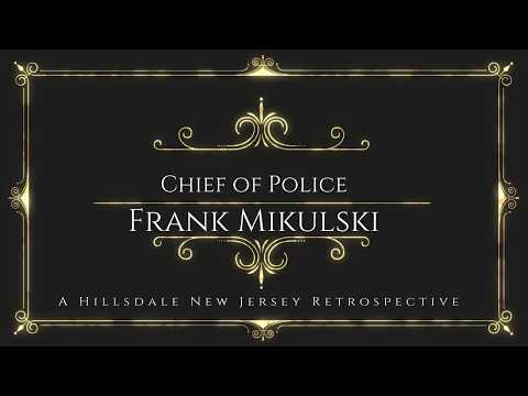 Hillsdale's Retired Chief of Police Frank Mikulski